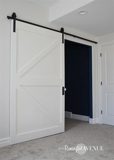 the barn door 50 diy brace barn door remington avenue