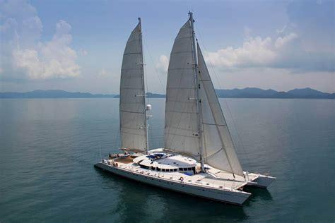 alu marine yacht  douce france catamaran rental