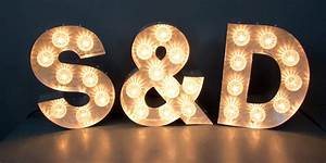 Marquee letters sp or love or fun or a b illuminated for B marquee letter