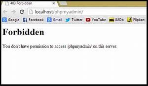 How to Fix 403 Forbidden Error in Wamp Server