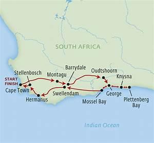 knysna map garden route karten sudafrika landkarten With katzennetz balkon mit accommodation garden route south africa