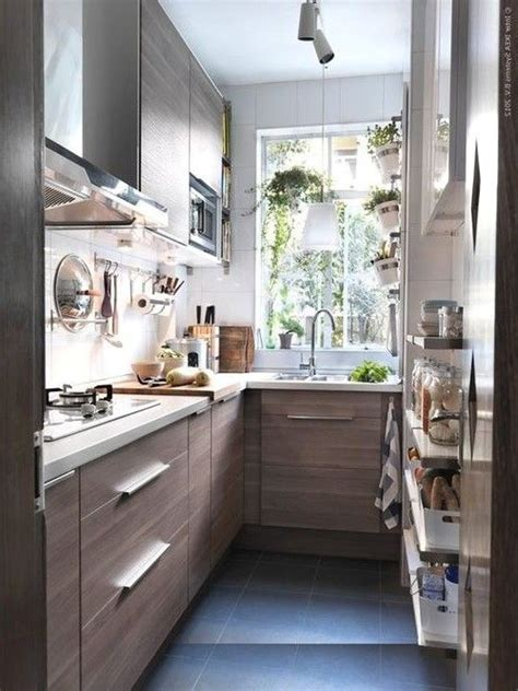 Ideas For A Tiny Kitchen by Beautiful Small Kitchen On Wooden Theme Small House