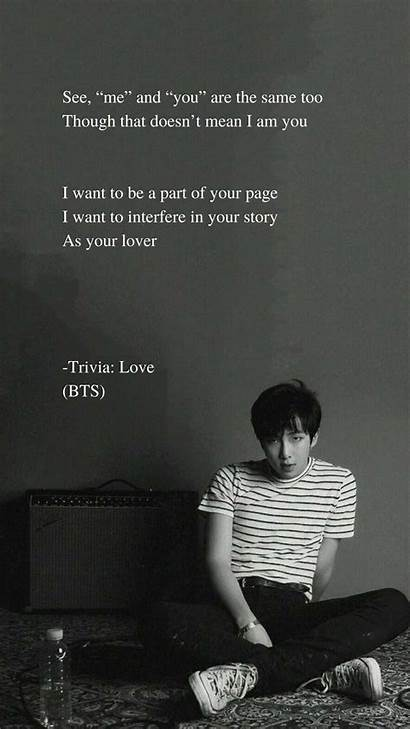 Bts Rm Lyrics Quotes Trivia Wallpapers Song