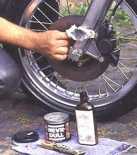 motorrad chrom polieren motorrad putzen tipps winni scheibe