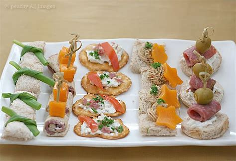 beautiful canapes recipes pretty canapés nom nomz