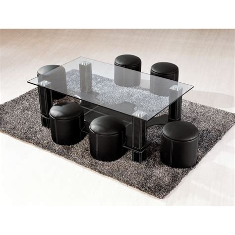 table basse avec poufs integres maison design hosnya