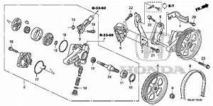 Honda Online Store   2005 Odyssey P S  Pump Parts