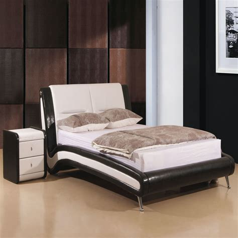designer bed frame wood frame bed double bed frame  ft
