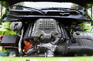 2015 Dodge Challenger Srt Hellcat Engine