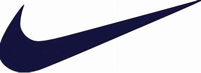Nike Check Clipart Navy Swoosh Dark Clip
