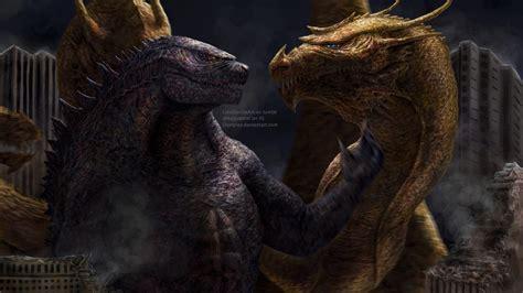 Godzilla Vs. King Ghidorah By Demplex On Deviantart