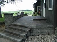 paver patio designs paver patio steps – Leading Edge Landscapes