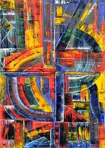 Gemälde In öl : tunnelexplosion abstrakt foto als gem lde lbild nach ~ Sanjose-hotels-ca.com Haus und Dekorationen