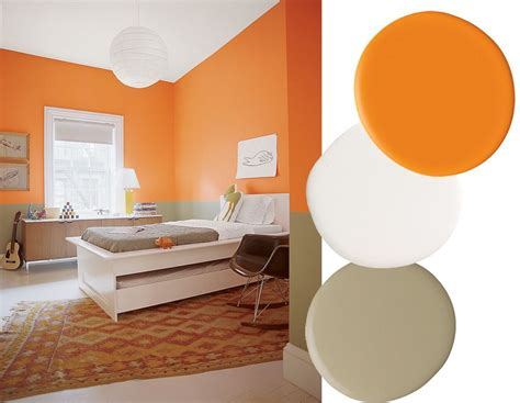 paint color combinations with orange best color combinations to paint home interiors 2018