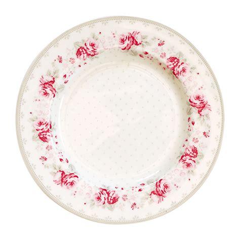 Teller Vintage plate small vilma vintage greengate plates