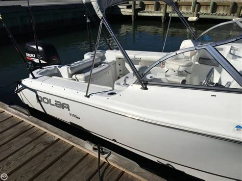 Used Bay Boats For Sale Virginia by 2006 Used Polar 2100 Dc Bay Boat For Sale 18 500