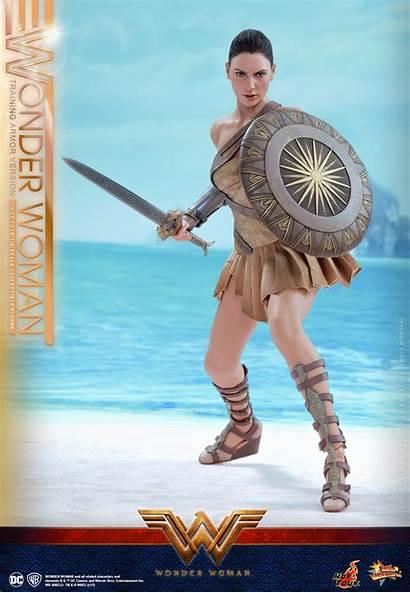 Wonder Woman Toys Armor Training Scale Version