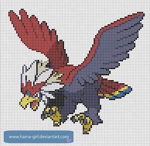 Pokemon Pixel Art Grid - Skulptura Art