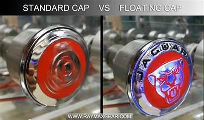 Jaguar Floating Wheel Caps Cap Hub Led