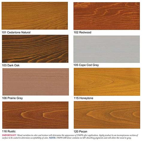 Twp Wood Deck Stain Canada by Twp Wood Stain Sles Colors 1500 Series And 100 Series