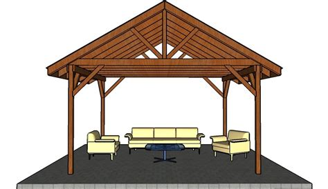 picnic shelter plans howtospecialist   build step  step diy plans