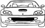 Ferrari Coloring Colouring Cars Maranelo F40 sketch template