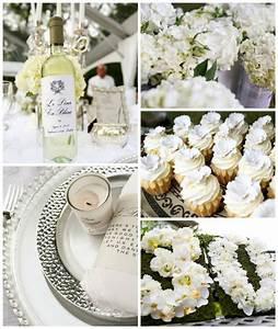 Elegant White Outdoor Dinner Party via Kara's Party Ideas ...