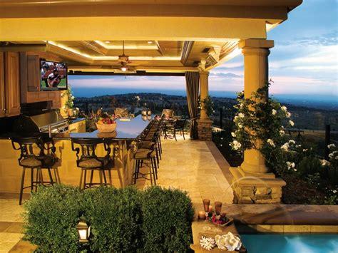 22+ Outdoor Kitchen Bar Designs, Decorating Ideas Design