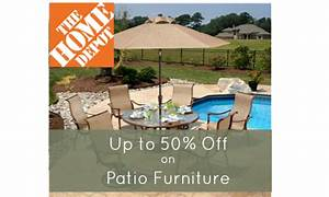 home depot patio furniture up to 50 off southern savers With home depot patio furniture 50 off
