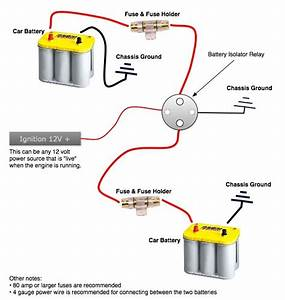 Winch Battery Isolator Wiring Diagram