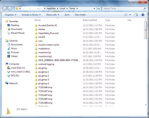 Clear Temporary Files On Windows 7