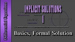 Diagram Differential Equation