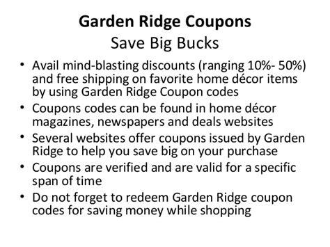 garden ridge coupons garden ridge coupons
