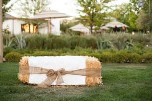 hay bale seating wedding ideas the ribbon hay bale seats and turquoise - Hay Wedding