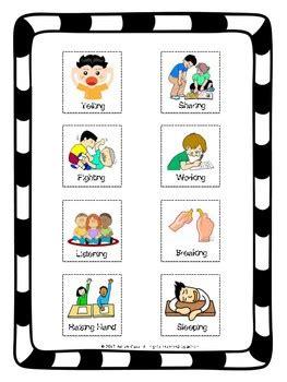 social skills good  bad choices  autism class tpt