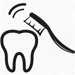 Brush Icon Dental Tooth Clean Hygiene Bleaching