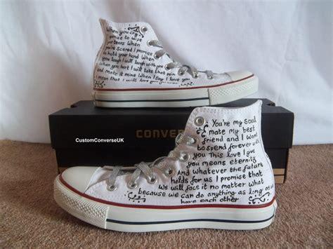 Custom Wedding Converse