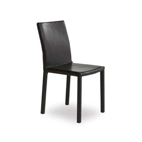 chaise à manger chaise de salle à manger contemporaine en synthétique