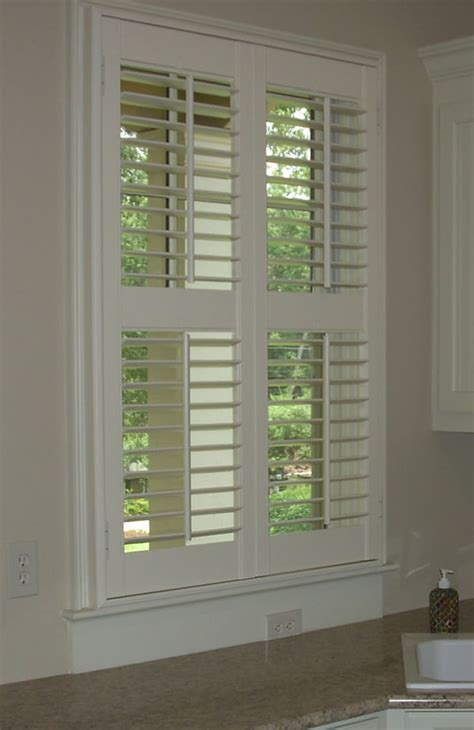 interior louvered shutter efficient window coverings