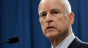 CA Governor Jerry Brown to Fine People for Long Showers