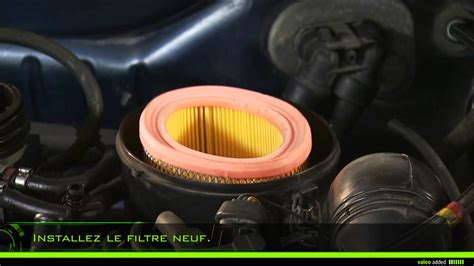 valeo air filter montage dun filtre  air rond youtube