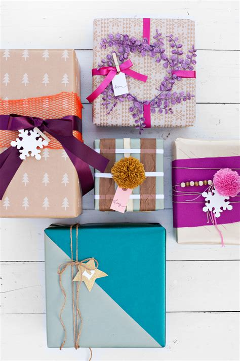 try this use scraps for creative gift wrapping a beautiful mess