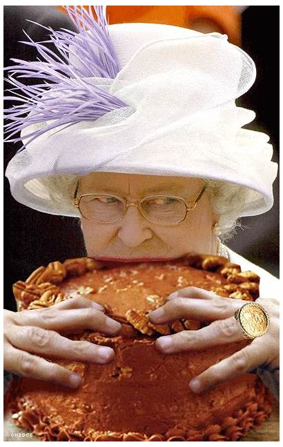 Eating Queen Cake Elizabeth Gifs Trending Tagged