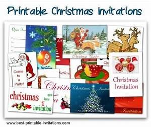 Christmas Potluck Invitation Template – Free Printable