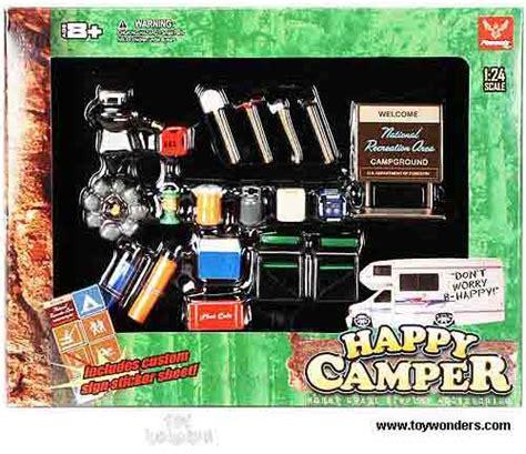 phoenix garage diorama accessory set happy camper