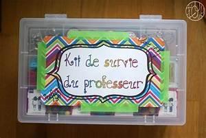 Cadeau Pour Maitresse D École : kit de survie du professeur tuto inside cadeau ~ Melissatoandfro.com Idées de Décoration