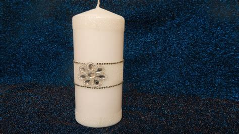 Decorare Candele by Come Decorare Candele Natalizie Fai Da Te Eleganti How