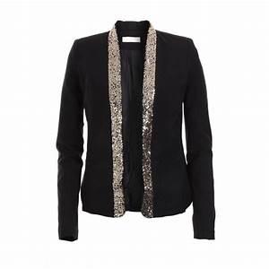 Blazer Femme Noir : blazer femme dore ~ Preciouscoupons.com Idées de Décoration