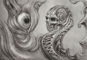 Dark Surreal Art Pencil Drawings