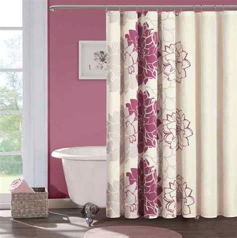 shower curtains kohls contemporary bathroom with cheap pink floral kohls shower